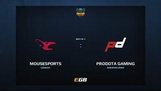 Mousesports vs PD Gaming, Game 2, Dota Summit 7, EU Qualifier
