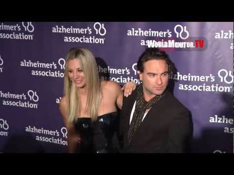 'The Big Bang Theory' Kaley Cuoco, Johnny Galecki 21st Alzheimer's A Night at Sardi's
