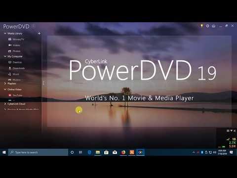 CyberLink PowerDVD Ultra 19.0.1807.62 Crack & Keygen