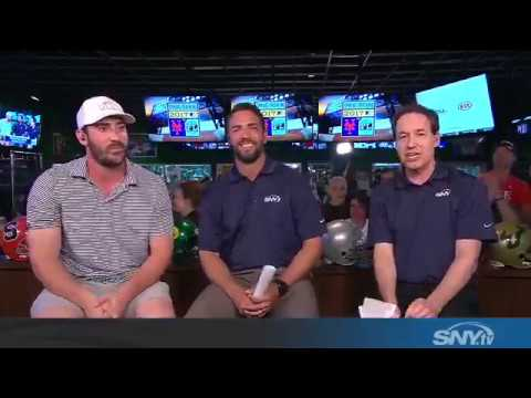Video: Matt Harvey stops by Mets Hot Stove - Live from Duffy's in PSL!