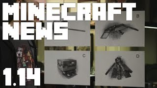 •Minecraft News: PICK THE NEW MOB! (MC 1.14 NEWS)•