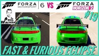 Nonton Forza Motorsport 6 (For Paul) vs Forza Horizon 2 |Fast & Furious Eclipse '95 | Sound Comparison #19 Film Subtitle Indonesia Streaming Movie Download