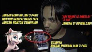 Video Akhirnya Gw Berhasil! Jangan Main Talking Angela Jam 3 Pagi - CUKSTAW 2 MP3, 3GP, MP4, WEBM, AVI, FLV Agustus 2018