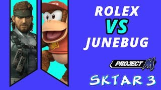 Rolex vs. Junebug at SKTAR, very good set (no commentary) [15:42]