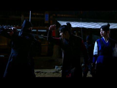 【TVPP】Lee Seung Gi - Stabbed for protecting Suzy, 이승기 - 수지(여울) 보호하려다 칼에 찔리는 승기(강치) @ Gu Family Book
