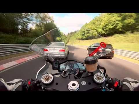 Fast ride R1 + Crash