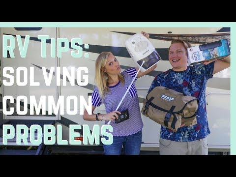 RV TIPS! Accessories To SOLVE Common Problems! || RV Living
