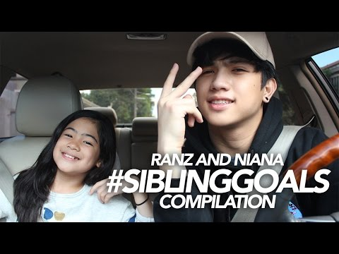 Sibling Goals Compilation | Ranz and Niana