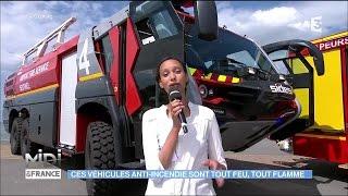 Trignac France  City pictures : Les véhicules anti-incendie