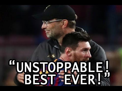Famous Managers On Messi (compilation)