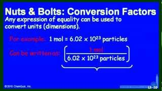 Conversion Factors 1 (NB)