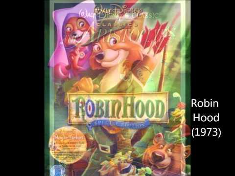 My Favorite Disney Animated Movies! (1937-2011)