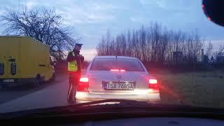 Policjant kontra kierowca i znak, którego nie było