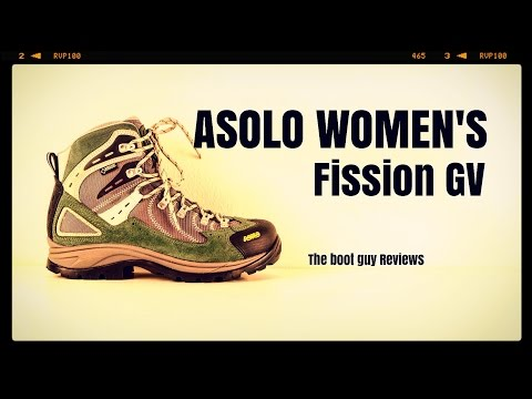 Asolo Fission GV ( women's ) [ The Boot Guy Reviews ]