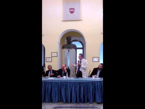 Il giornalista Francesco Manca al convegno presso Comune Sorrento