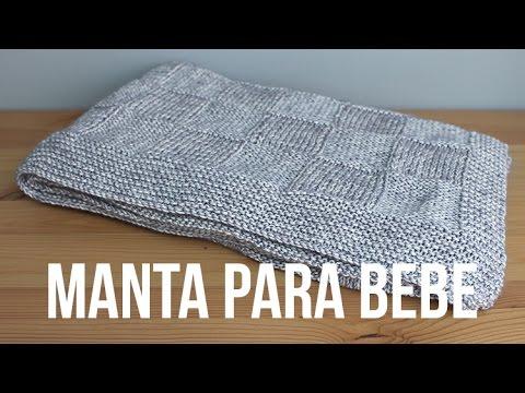 soffice copertina per bebè realizzata a maglia