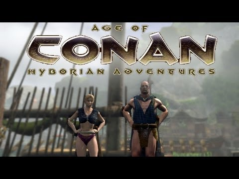 Let's Test Age of Conan #001 [Deutsch] [HD] – Free-2-Play-MMORPG