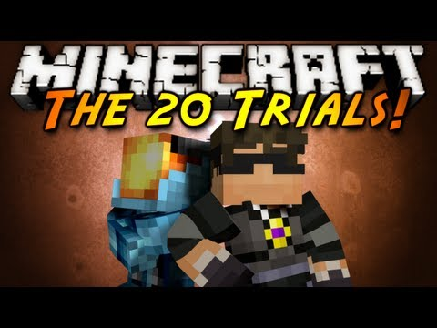Minecraft: The 20 Trials Part 1!