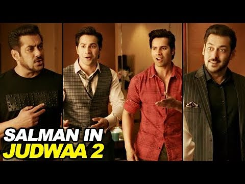 Salman Khan In Judwaa 2 TEASER OUT | Judwaa 1 Meet