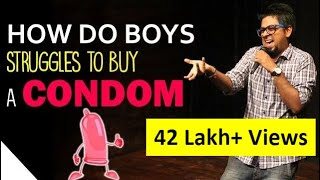 Video Experience of Buying  a Condom   | Stand Up Comedy by Abijit Ganguly | Comedy Munch MP3, 3GP, MP4, WEBM, AVI, FLV Januari 2018
