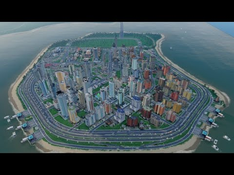 Simcity 5, Big and realistic city- Tamarin Island, #11