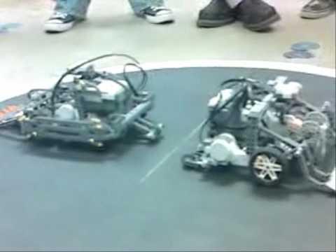 comment construire un robot nxt