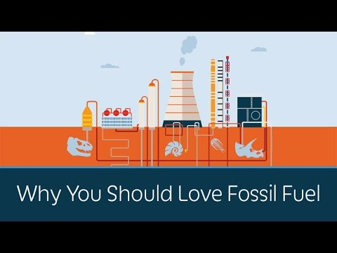 Video: Video: Fossil fuels have HELPED the environment