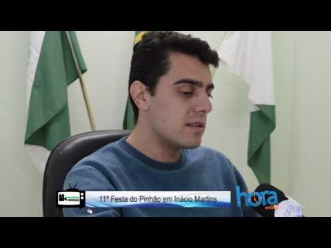 2. Inácio Martins em destaque  11ª Festa do Pinhão