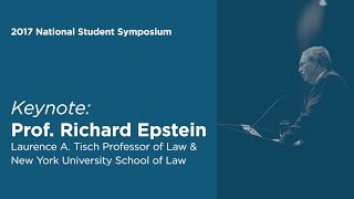 Click to play: Keynote Address by Richard Epstein - Event Audio/Video