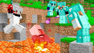 Minecraft, But If my Villager Dies I LOSE! (MobSave)