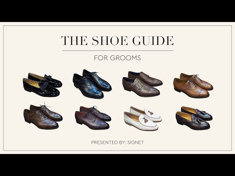 Video A Shoe Guide for Grooms download in MP3, 3GP, MP4, WEBM, AVI, FLV January 2017