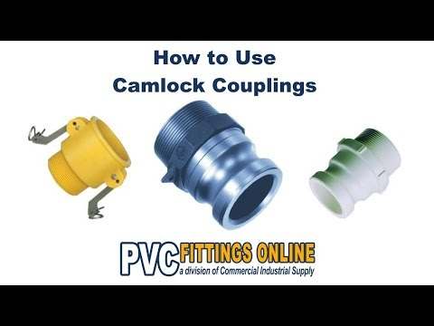 Camlock Fittings (Cam & Groove Couplings) - How to Use