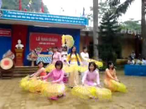 Múa quạt: Việt Nam quê hương tôi _ THCS Thu Cúc