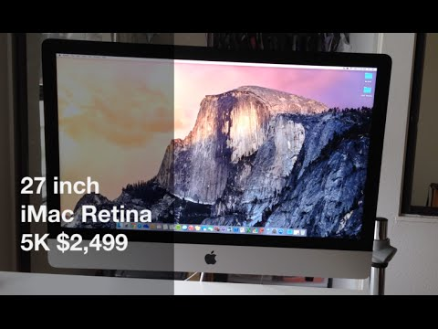 iMac review - This is my run down video review of the BRAND NEW iMac 27 inch Retina 5k model! If you haven't already, go download OSX Yosemite! It's out and it's free!!!! :) Here is the link to the iMac:...