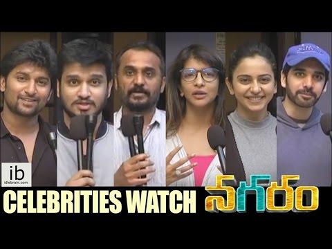 Celebrities watch Nagaram