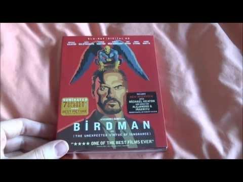 Birdman Bluray Unboxing