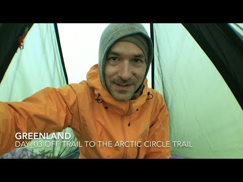 Off trail to the Arctic Circle Trail - Greenland - Day 3
