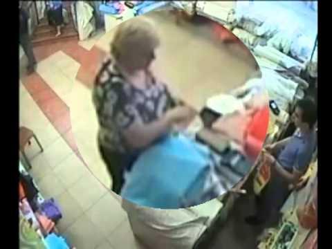 Կտորի խանութից հափշտակվել է կնոջ դրամապանակը (Տեսանյութ)
