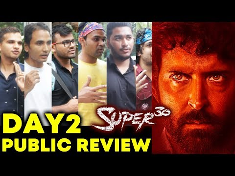 SUPER 30 PUBLIC REVIEW | DAY 2 | Hrithik Roshan | Anand Kumar Biopic