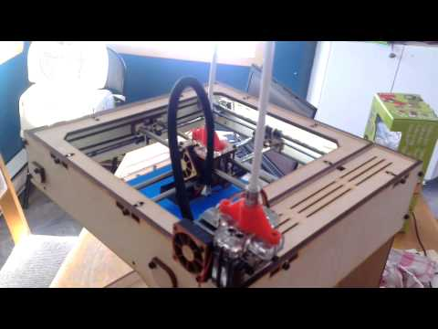 Ditto 3D printer – First bowden print