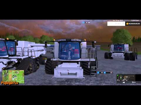 CaseIH 8 Pack HDR Dyeable Combine Harvesters v1.4