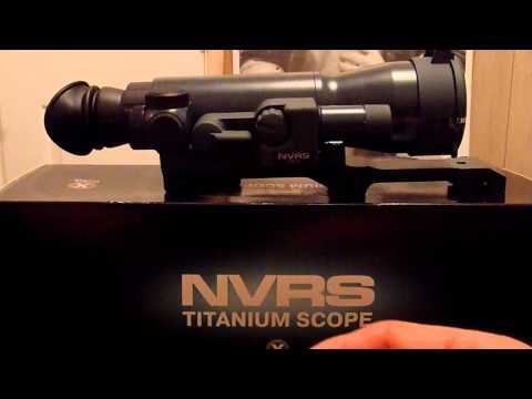 Night scope - On overview of a Yukon night vision scope prior to mounting.
