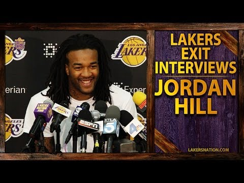 lakers - In Jordan Hill's 2014 exit interview, he discusses whether he thinks he'll return next season, his relationship with Mike D'Antoni, and facetiously calls Chr...