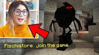 SPAVENTO LA MIA RAGAZZA CON IL FISCHIATORE - Scherzo su Minecraft ITA