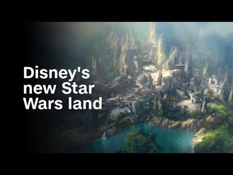 Αυτό είναι το πάρκο για το Star Wars που ετοιμάζει η Disney