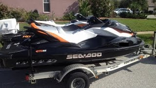 6. [UNAVAILABLE] Used 2013 Sea-Doo RXT 260 AND GTI SE 155 in Riverview, Florida