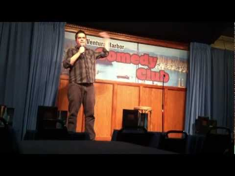 David Sharp at the Ventura Harbor Comedy Club 8.21.12