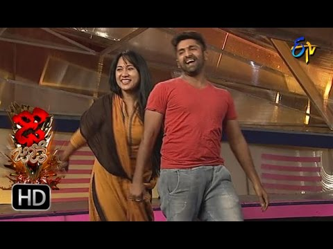 Sekhar Matar And Hany Matar Performance | Dhee Jodi | 9th November 2016 | ETV Telug
