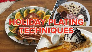 Holiday Plating Techniques • Tasty by Tasty