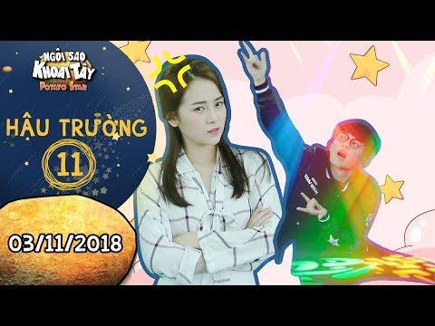 Ngôi sao khoai tây | hậu trường 11: Tam Triều Dâng phát quạo vì Gin Tuấn Kiệt quá nhoi ở phim trường - Thời lượng: 2 phút, 7 giây.